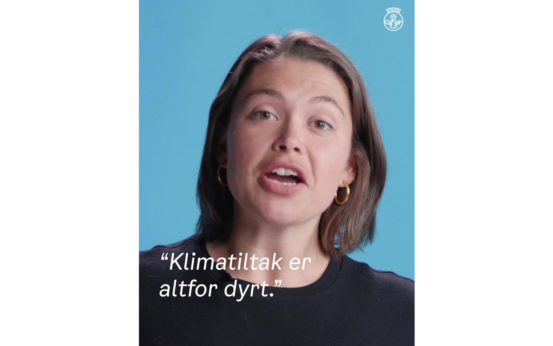Derfor kan klimatiltak være lønnsomt, forklarer Emilie.